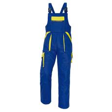 Cerva MAX kertésznadrág kék/sárga 48
