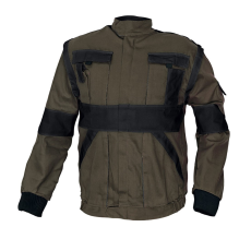 Cerva MAX kabát barna / fekete 52
