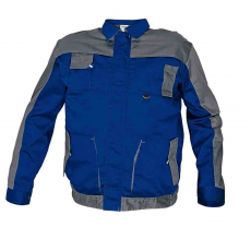 Cerva MAX EVO kabát kék/szürke 62