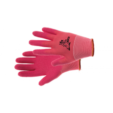 Kixx LOLLIPOP kesztyű nylon, latex rózsaszín - 5