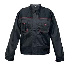 FF BE-01-002 kabát fekete/piros 56