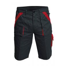 Cerva MAX rövidnadrág fekete/piros 52