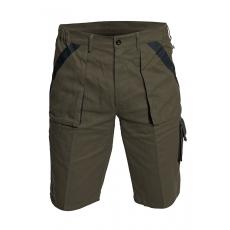 Cerva MAX rövidnadrág barna/fekete 52