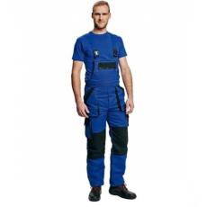 Cerva MAX WINTER kertésznadrág kék/fekete 50