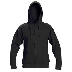 Cerva NAGAR csuklyás pulóver fekete M