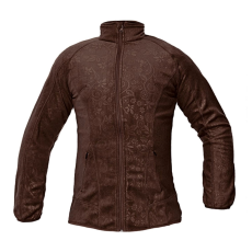CRV YOWIE női polár kabát barna XL