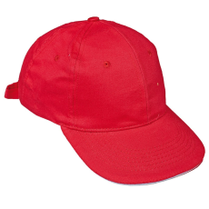 Cerva TULLE baseball sapka piros
