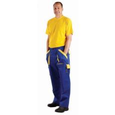 Cerva MAX nadrág kék/sárga 60