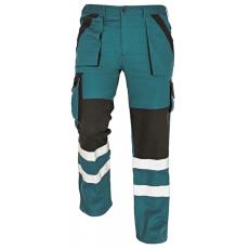 Cerva MAX REFLEX nadrág zöld/fekete 58