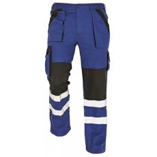 Cerva MAX REFLEX nadrág kék/fekete 58