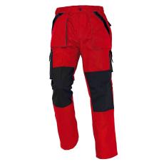 Cerva MAX nadrág piros/fekete 56