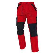 Cerva MAX nadrág piros/fekete 68