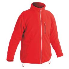 Cerva KARELA polár kabát piros XL