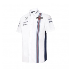 Williams Martini Racing férfi ing Replica white 2016 - XL