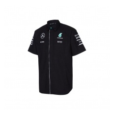 Branded Mercedes AMG Petronas férfi ing black Team F1 2016 - XL