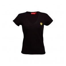 Branded Ferrari női póló V-neck black F1 Team 2016 - L