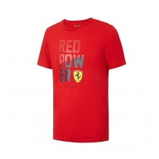 Branded Ferrari férfi póló Red Power red F1 Team 2016 - XXL