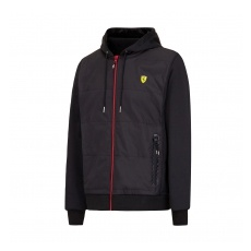 Branded Ferrari férfi pulóver Full Zip black F1 Team 2016 - XL
