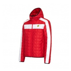 Branded Ferrari férfi kabát SF Packable red F1 Team 2016 - M