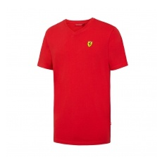 Branded Ferrari férfi póló V-neck red F1 Team 2016 - XL
