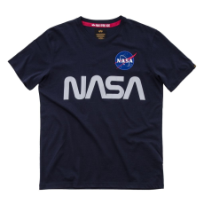 Alpha Indsutries NASA Reflective T - replica blue