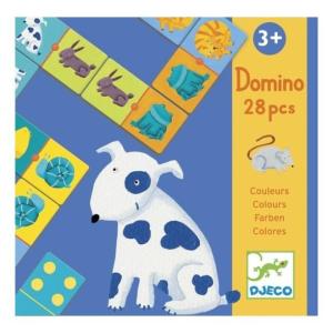 Djeco Colour animals - Színes állatok, dominó