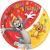 Tom és Jerry Papírtányér 8 db-os 23 cm