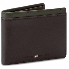 Tommy Hilfiger Nagy férfi pénztárca TOMMY HILFIGER - Color Block CC Flap And Coin Pocket AM0AM01840 902