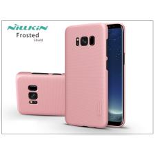 Nillkin Samsung G950F Galaxy S8 hátlap képernyővédő fóliával - Nillkin Frosted Shield - rose gold tok és táska