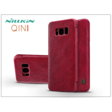Nillkin Samsung G950F Galaxy S8 oldalra nyíló flipes tok - Nillkin Qin - piros tok és táska