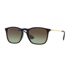 Ray-Ban RB4187 6315E8 CHRIS TRASPARENT BROWN SP BLU GREEN GRADIENT BROWN napszemüveg