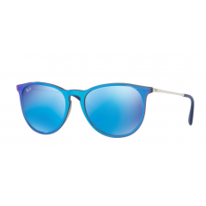 Ray-Ban RB4171 631855 ERIKA GREY MIRROR FLASH BLU LIGHT GREEN MIRROR BLUE napszemüveg
