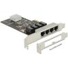 DELOCK PCI Express Card > 4 x Gigabit LAN
