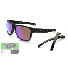 Oakley Crossrange Polished Black Prizm Golf