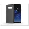 Haffner Samsung G950F Galaxy S8 szilikon hátlap - Jelly Flash Mat - fekete