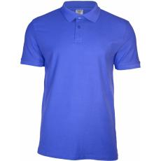 KEYA galléros piké póló, royal (Keya férfi galléros piké póló, 100% pamut piké anyag, 180g/m2.)