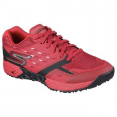 Skechers Go Train-Endurance férfi sportcipő, Red/Black, 42.5 (54122-RDBK-42.5)