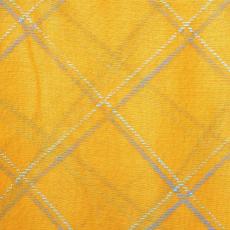 Dupla kockás sál, sárga