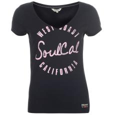 Soul Cal Póló SoulCal Fashion Logo női