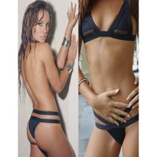 Csakcsajok Divatos-Egyedi Bikini Fekete-Large