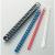 No-name Műanyag spirál 16mm FEKETE 100db/dob