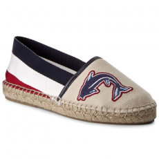 Tommy Hilfiger Espadrilles TOMMY HILFIGER - Sunny FW0FW01751 White 100