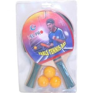 Pingpong ütő 2 darabos készlet 3 labdával