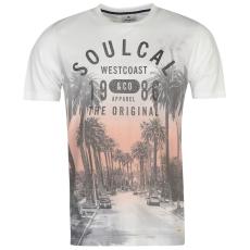 Soul Cal Póló SoulCal Deluxe fér.
