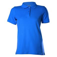 KEYA galléros Női piké póló, királykék (Keya galléros Női piké póló, 100% pamut piké anyag, 180g/m2.)