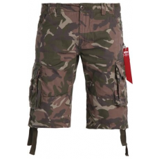 Alpha Industries Jet Short - wood camo
