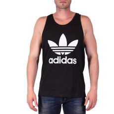 Adidas TREFOIL TANK, fekete ujjatlan férfi póló