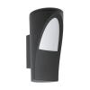 EGLO Kültéri Fali lámpa E27 1X60W IP44 antracit - Propenda EGLO
