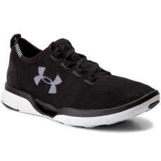 Under Armour Cipők UNDER ARMOUR - Ua Charged Coolswitch Run Blk/Wht/Wht