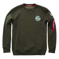 Alpha Industries Space Shuttle Sweater - dark green